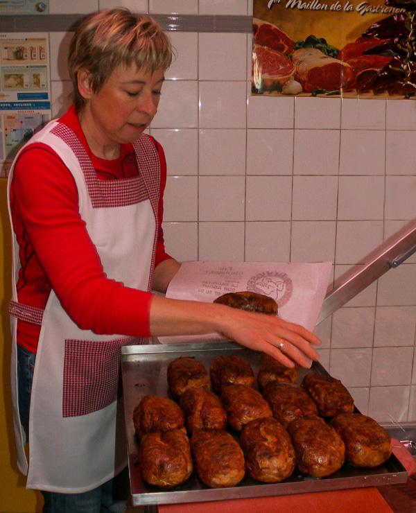 Artisans et producteurs du Haut Languedoc. Eric Grousset boucher charcutier roi de la bougnette