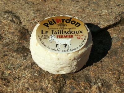 Fromages de chèvre ferme Les Taillades. Pélardon