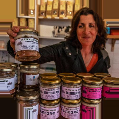 Artisans et producteurs du Haut Languedoc. Ferme de Besses. Vente directe viandes
