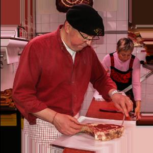 Artisans et producteurs du Haut Languedoc. Eric Grousset boucher-charcutier à La Salvetat sur Agoût